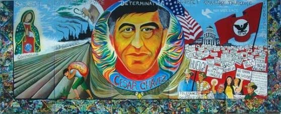 Family Art-Celebrando Marzo 31 el dia de Cesar Chavez / Cesar Chavez Day March 31st