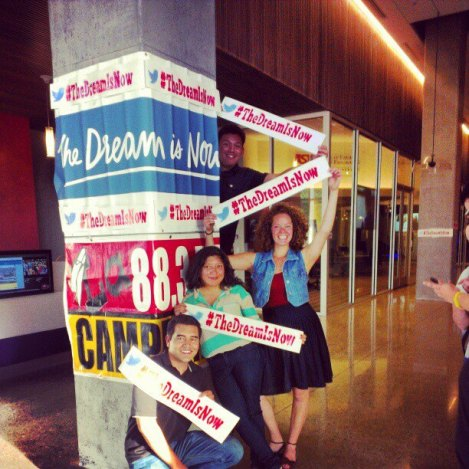 "Radio Campesina/Club Campesina Outreach and Volunteer Team at ""The Dream is Now"" screening"