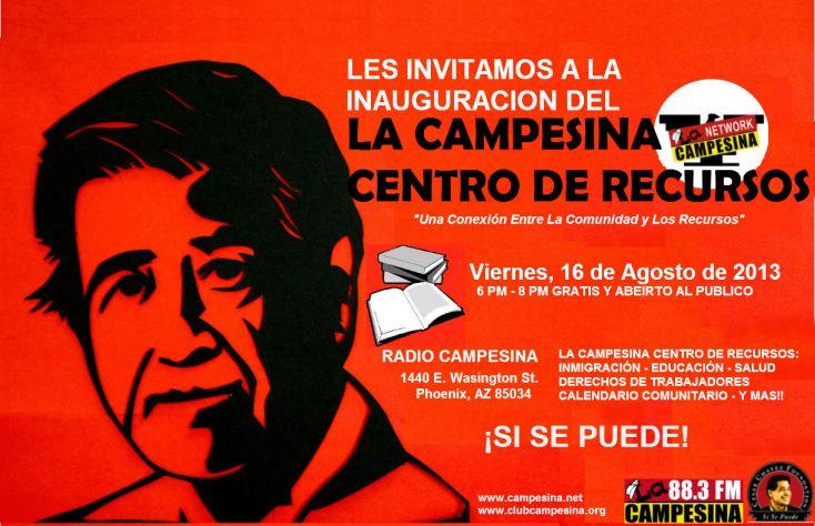 LA CAMPESINA CENTRO DE RECURSOS-INVITACION