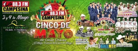 Festival 5 de Mayo este Fin de Semana!!